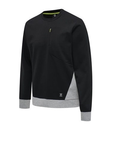 Hummel Hummel Tropper Erkek Sweatshirt 206272-2001 206272-2001001 Siyah
